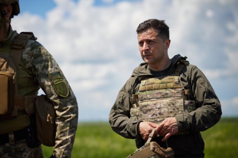 """Зеленський пояснив """"пересічним американцям"""", чому їх має хвилювати війна в Україні"""