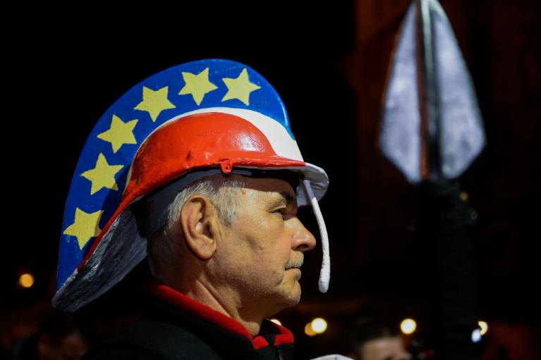 Суддівський бунт і правовий Polexit. Як сварка партії Качинського з ЄС працює на тріумф Туска