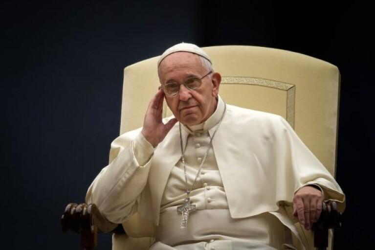 Папа Римский призвал избежать эскалации на Донбассе