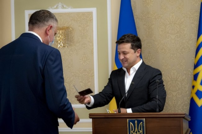 Зеленський представив нового очільника Служби зовнішньої розвідки (ФОТО)