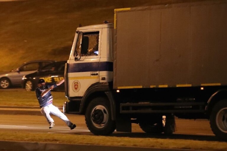 В Минске погиб протестующий, - СМИ  (ВИДЕО)