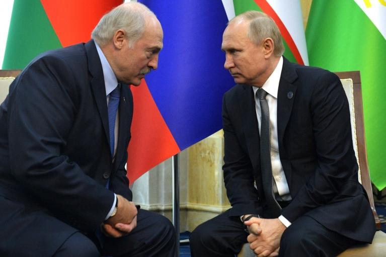 Путін обговорив з Лукашенком співробітництво України з НАТО