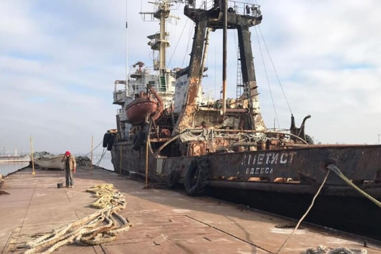 АМПУ приховала витік нафти у Чорне море і блокує роботу екологів, - ДЕІ