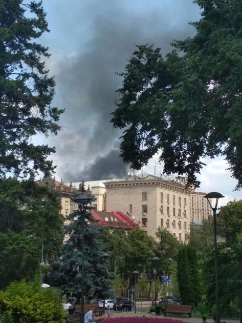 Пожежа на Хрещатику