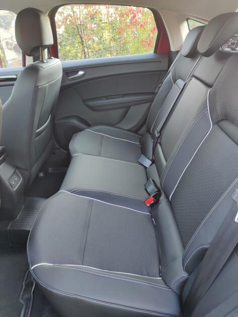 Задние сиденья Renault Arkana