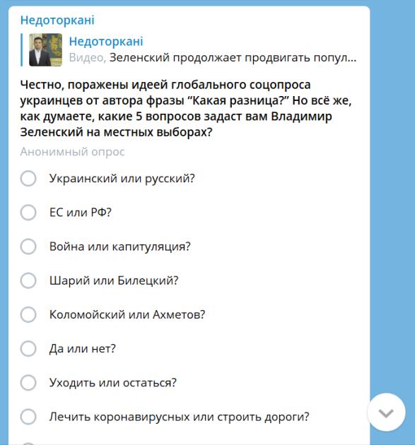 Сложные вопросы для президента Зеленского