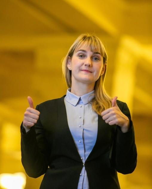 Наталья Пипа на выборах