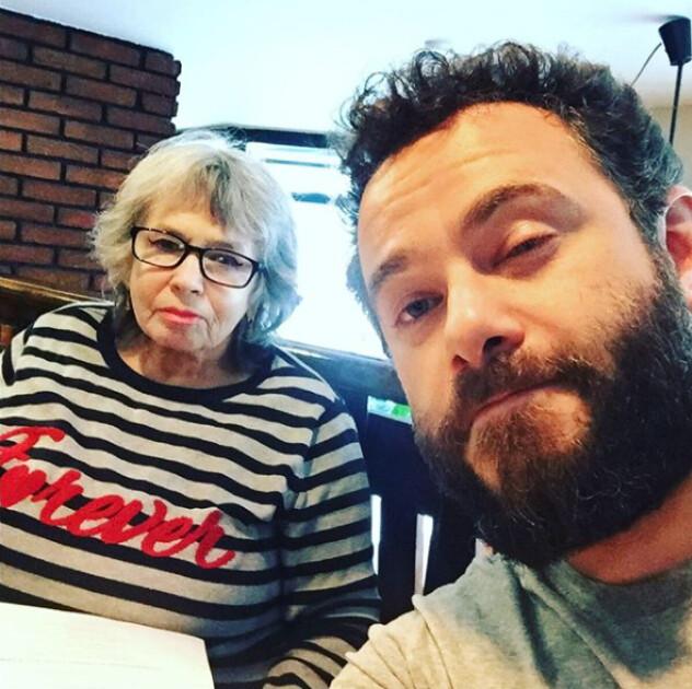 Олександр Дубінський з мамою
