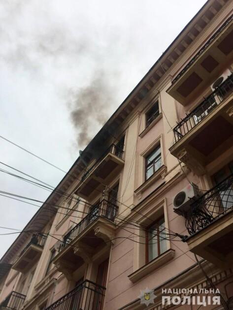 Пожежа у будинку