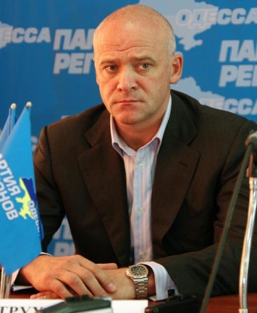 Народный депутат Украины Геннадий Труханов, 2010 г.