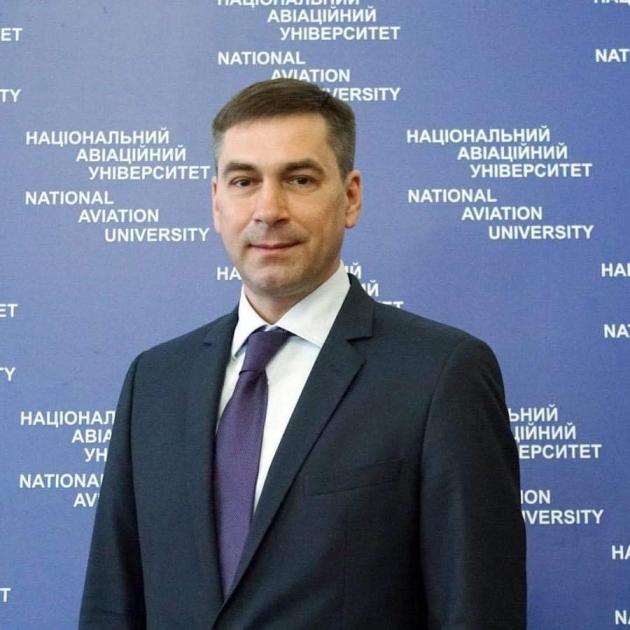 Ректор Національного авіаційного університету Максим Луцький