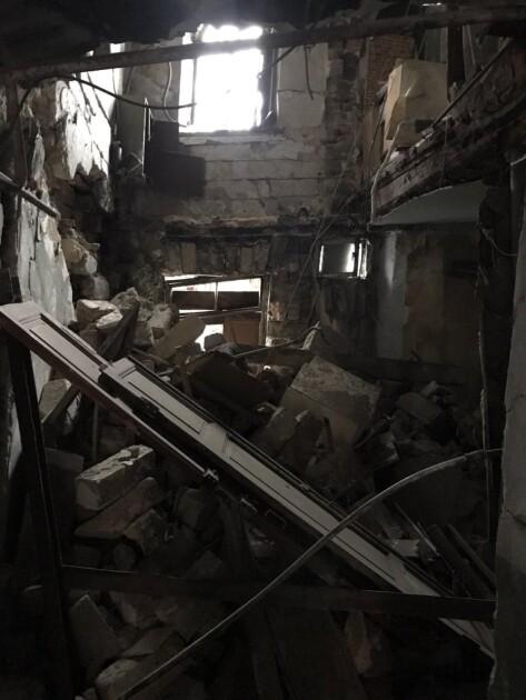 Обвалення сходової клітки в житловому будинку в Одесі