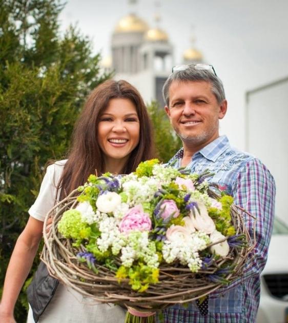 Руслана з чоловіком Олександром