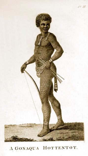 «Готтентот». Малюнок  1780 р.