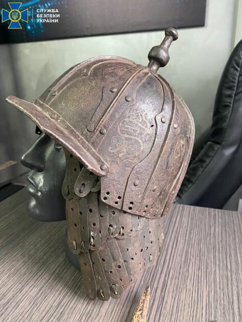 Старовинний шолом