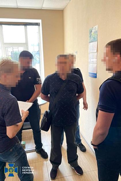Резидент та його агент, співробітник СБУ, затримані