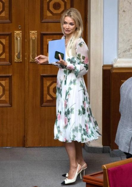 Ірина Аллахвердієва під час засідання Верховної Ради України, 18 червня 2021 р.