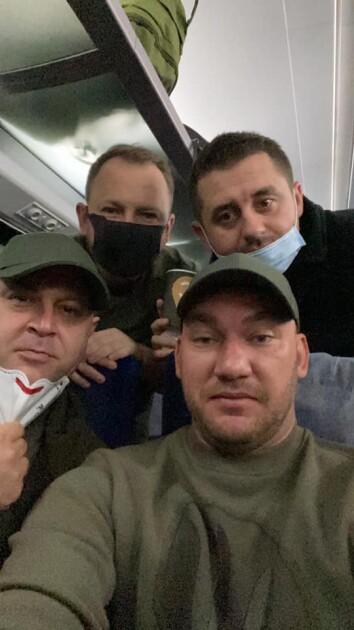 Игорь Негулевский, Алексей Леонов и Давид Арахамий Арахамия