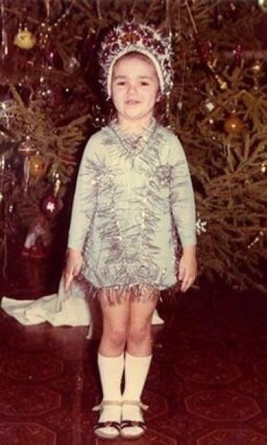 Злата Огнєвіч у дитинстві
