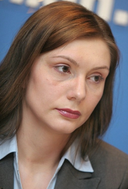 Прес-секретар Бориса Колєснікова Олена Бондаренко