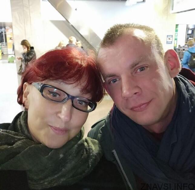 Галина Третьякова та її чоловік Сергій Попов