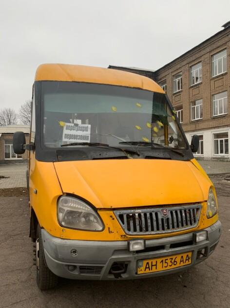 Автобус розвозив членів ДВК