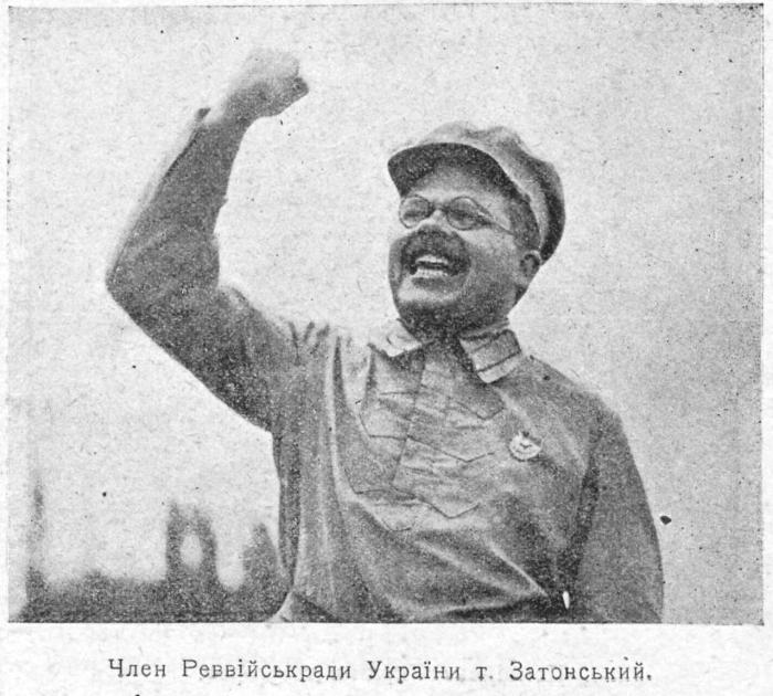 Володимир Затонський / Глобус, 1924 рік.