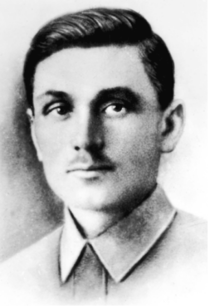Сергій Даниленко (Карін) в 1921 році