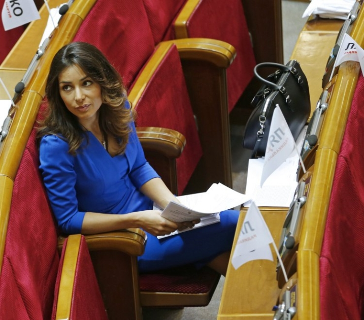 Народний депутат від Радикальної партії Злата Огнєвіч в ВР