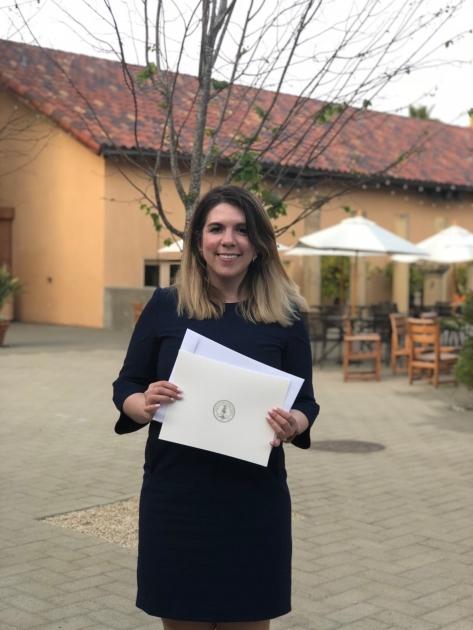 Кіра Рудик - випускниця Стенфордської програми для жінок-керівників / Facebook сторінка Кіри Рудик