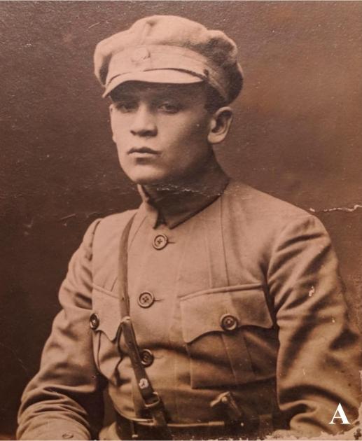 Член Всеукраинского центрального повстанческого комитета сотник Иван Андрух