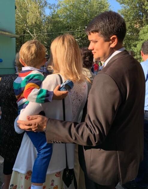 Дмитро Разумков з сім'єю