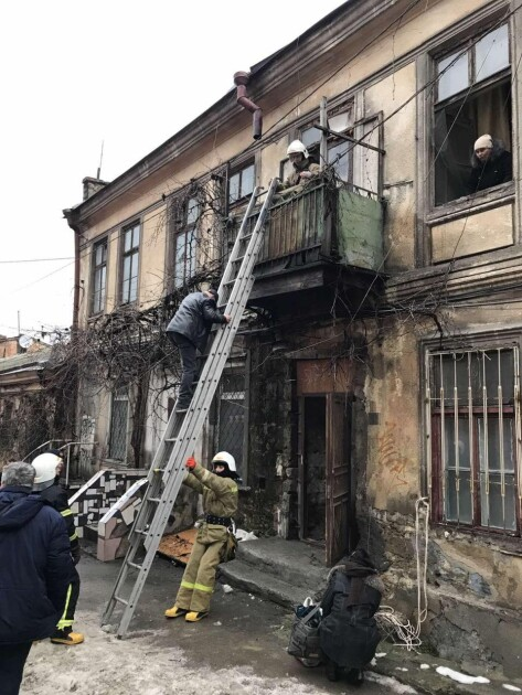 В Одесі стався обвал сходової клітки в житловому будинку