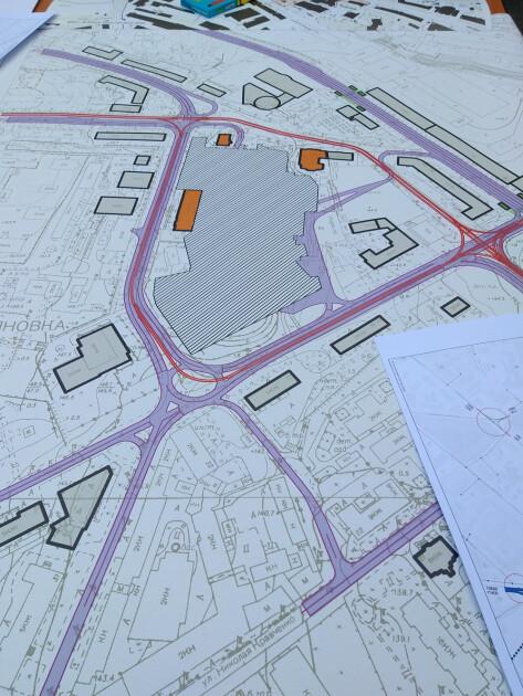 План Лукьяновской площади