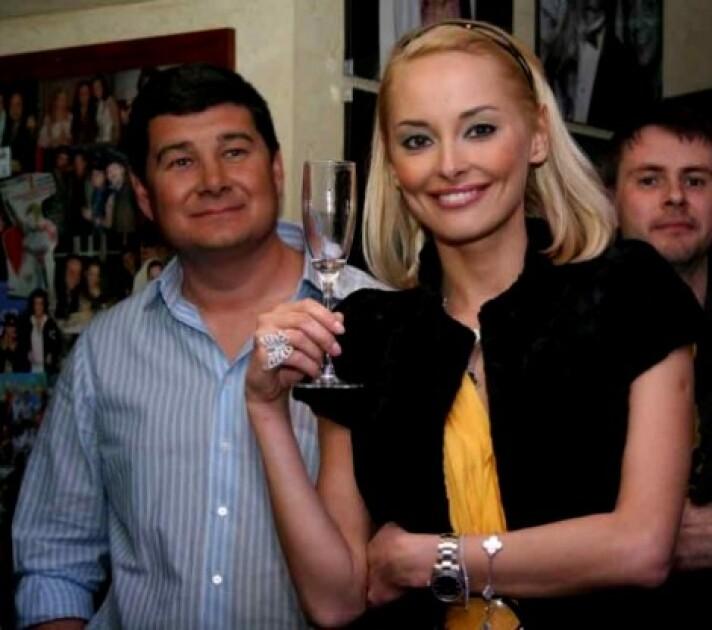 Александр Онищенко и бывшая жена Ксения Кузьменко/znaj.ua