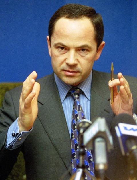 Сергій Тігіпко під час прес-конференці