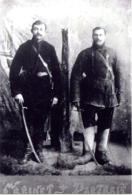Зимовий одяг повстанців Чорного лісу