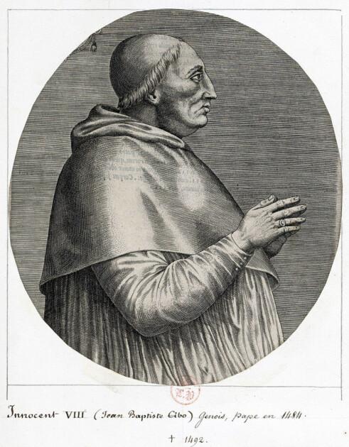 213-й Римский Папа Иннокентий VIII вполне может считаться человеком, изменившим судьбу штоллена