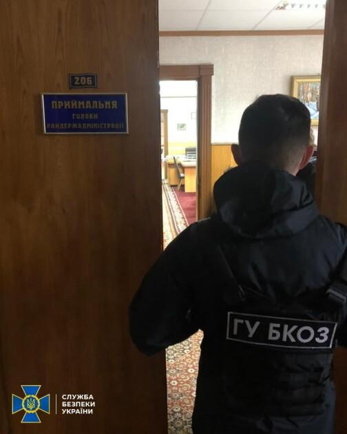 голову Чернігівської РДА спіймали на хабарі