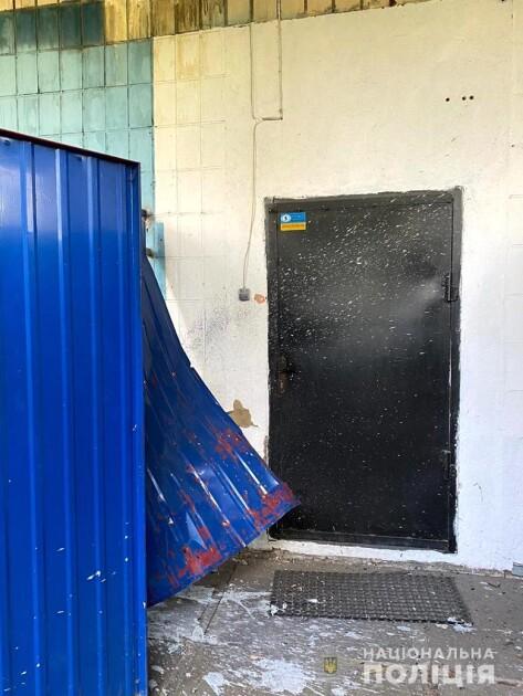 Взрыв у здания, в котором расположен офис Нацкорпуса