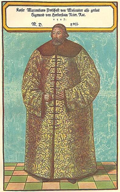 Барон Сигизмунд фон Герберштейн, невольный могильщик «алкогольно-народного» мифа о солянке