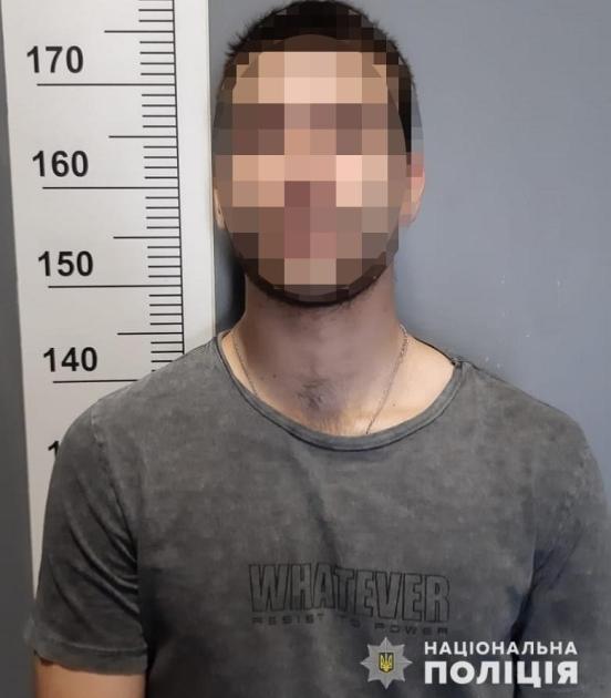 Подозреваемый — 21-летний уроженец Винницкой области