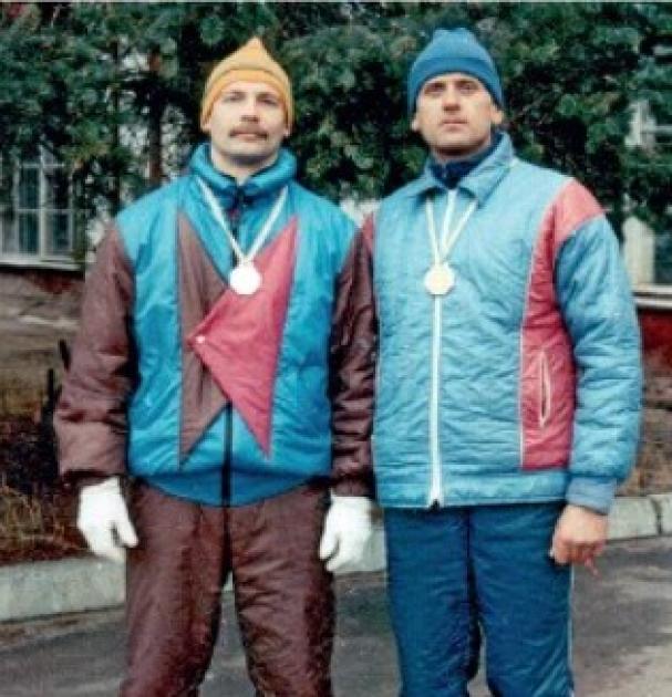 Олег Барна и Петр Остафийчук, Чемпионат Украины по полиатлону