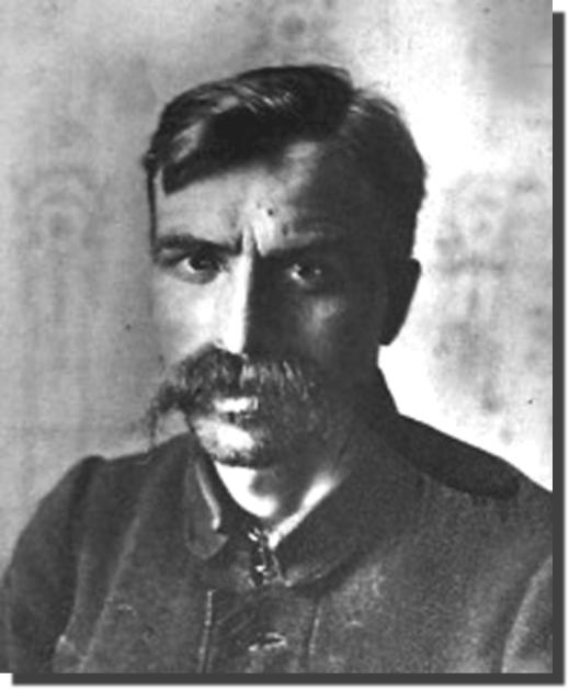 Арестованный Андрей Гулый-Гуленко в 1922 году