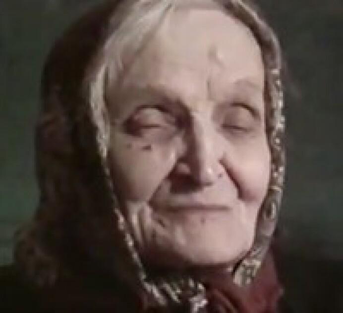 Татьяна Гарасева, 1990-е годы, в последние годы жизни она была слепой