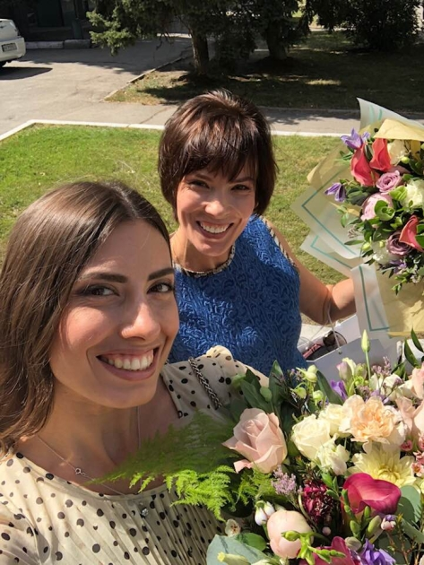 Мария Мезенцева и ее мать Нина Ивановна/Instagram ze.maria.168