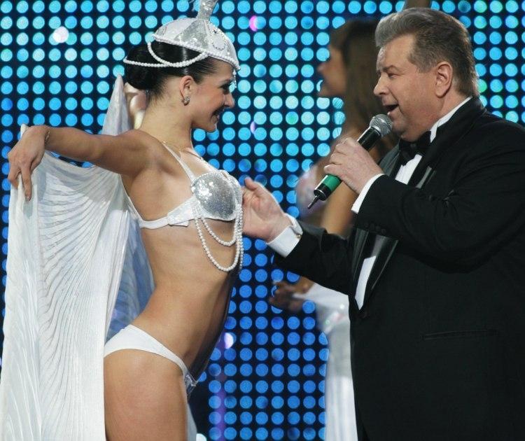 Михайло Поплавський на концерті
