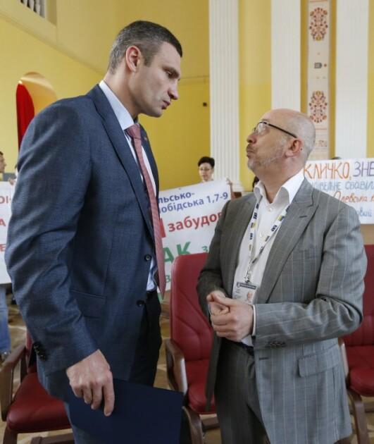 Віталій Кличко і Олексій Резніков