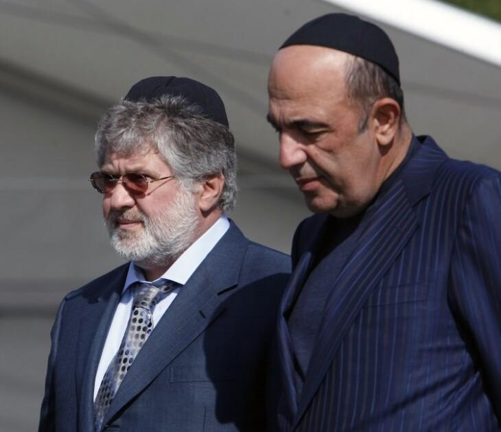 Игорь Коломойский и Вадим Рабинович