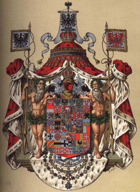 Большой герб Королевства Пруссия